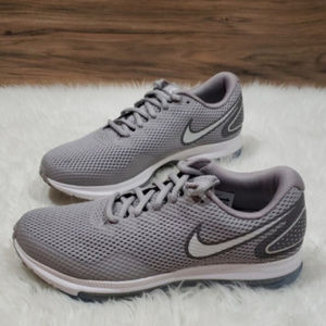 Nike Shoes - New Nike Zoom All Out Low Grey White Running Shoes